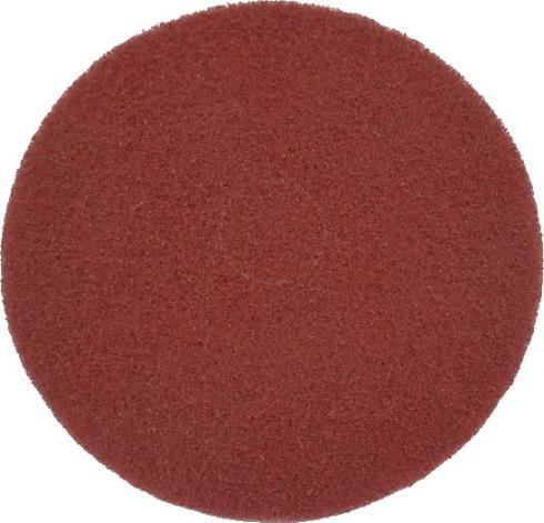 "Eco Brill. Pad 14"", Ø 355 mm, rot, VPE 2"