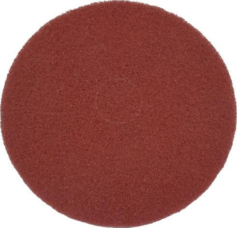 "Eco Brill. Pad 15"", Ø 380 mm, rot, VPE 2"