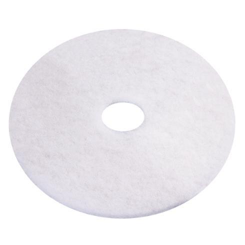 """Eco Pad 6,5"""", Ø 165 mm, weiß, VPE 10"""