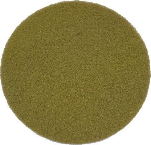 "Eco Brill. Pad 15"", Ø 380 mm, gelb, VPE"