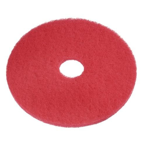 "Eco Pad 10"", Ø 254 mm, rot, VPE 5"