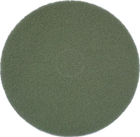 """Eco Brill. Pad 9"""", Ø 229 mm, grün, VPE 2"""