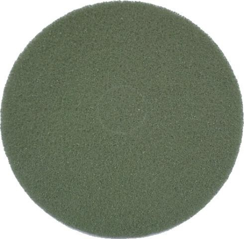 """Eco Brill. Pad 16"""", Ø 406 mm, grün, VPE"""